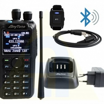 AT-D878UV PLUS AnyTone, Bluetooth, DMR-APRS i Analog APRS, Roaming, VFO, GPS