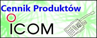 Cennik produktów Icom - kliknij!