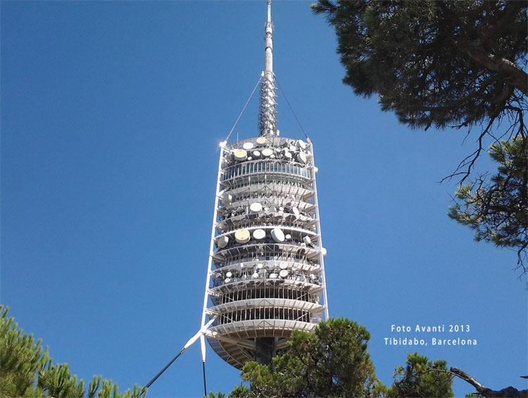 Wieża TV w Tibidabo